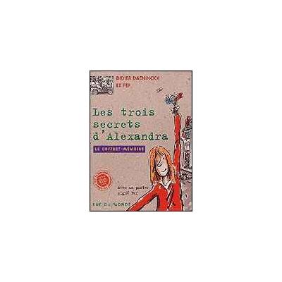 LES TROIS SECRETS D'ALEXANDRA - LE COFFRET MEMOIRE