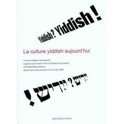 CULTURE YIDDISH AUJOURD'HUI