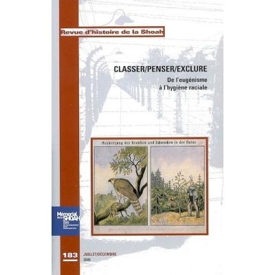 CLASSER/PENSER/EXCLURE