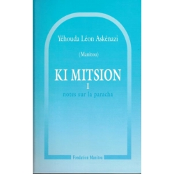 KI MITSION TOME.1 : NOTES SUR LA PARACHA