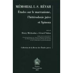 MEMORIAL I.S. REVAH : ETUDE SUR LE MARRANISME