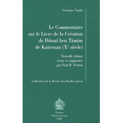 LE COMMENTAIRE SUR LE LIVRE DE LA CREATION DE BEN TAMIM