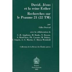 DAVID, JESUS ET LA REINE ESTHER