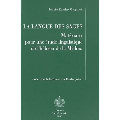 LA LANGUE DES SAGES