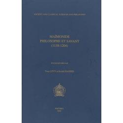 MAIMONIDE PHILOSOPHE ET SAVANT : 1138-1204
