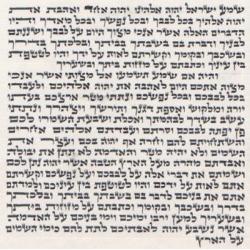 PARCHEMIN 12CM (ASHKENAZ)