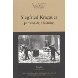 SIEGFRIED KRACAUER : PENSEUR DE L'HISTOIRE