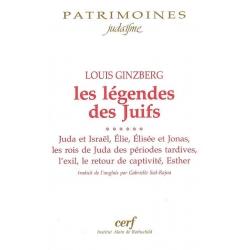 LES LEGENDES DES JUIFS VOL.6