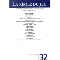 LA REGLE DU JEU N°32