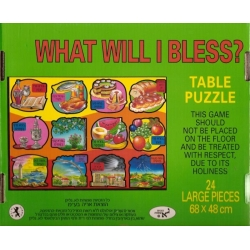 PUZZLE DES BENEDICTIONS - WHAT WILL I BLESS?