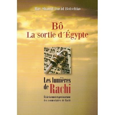 BO LA SORTIE D'EGYPTE