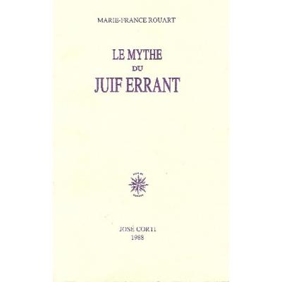 LE MYTHE DU JUIF ERRANT
