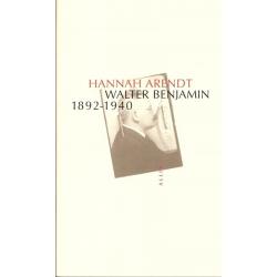WALTER BENJAMIN - 1892-1940