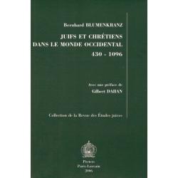 JUIFS ET CHRETIENS DANS LE MONDE OCCIDENTAL 430 - 1096