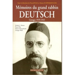 MEMOIRES DU GRAND RABBIN DEUTSCH
