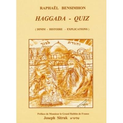 HAGGADA - QUIZ (DINIM - HISTOIRE - EXPLICATIONS)