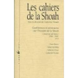 LES CAHIERS DE LA SHOAH