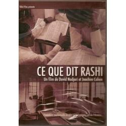 DVD - CE QUE DIT RASHI