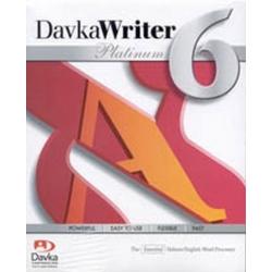 DAVKA WRITER PLATINUM 6 - HEBREW ENGLISH