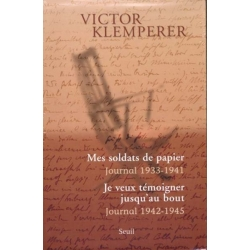 COFFRET : JE VEUX TEMOIGNER JUSQ'AU BOUT ET MES SOLDATS DE PAPIER