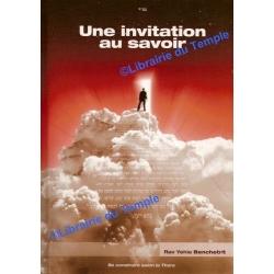 UNE INVITATION AU SAVOIR