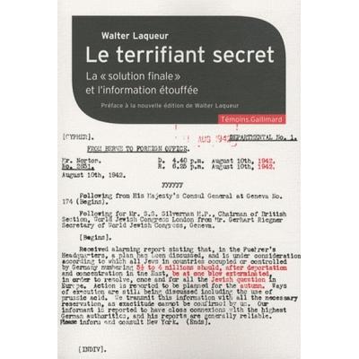 LE TERRIFIANT SECRET