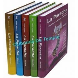 LA PARACHA - LEKET ELIAOU - 5 VOLUMES