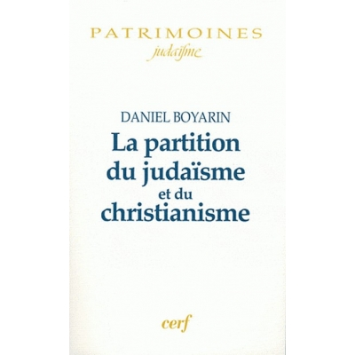 LA PARTITION DU JUDAISME ET DE CHRISTIANISME