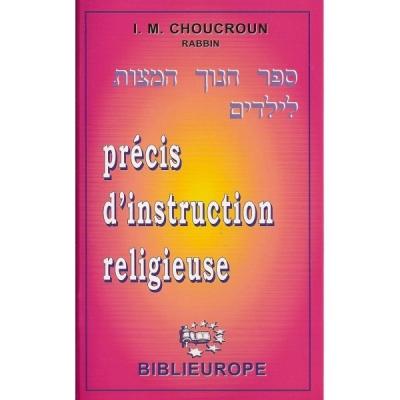 PRECIS INSTRUCTION RELIGIEUSE