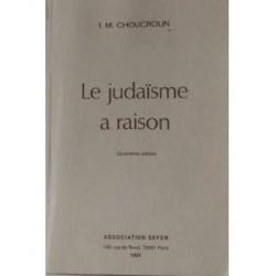 LE JUDAISME A RAISON