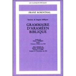 GRAMMAIRE D'ARAMEEN BIBLIQUE