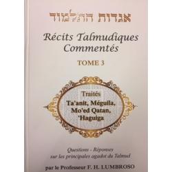 RÉCITS TALMUDIQUES COMMENTÉS T.3