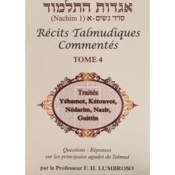 RÉCITS TALMUDIQUES COMMENTÉS T.4