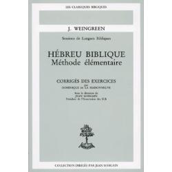 HEBREU BIBLIQUE CORRIGES DES EXERCICES