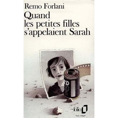 QUAND LES PETITES FILLES S'APPELAIENT SARAH